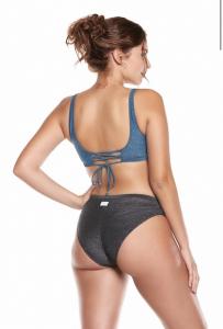 Bikini Curvy  Cotazur con corpetto e slip alto