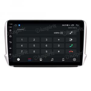 ANDROID autoradio navigatore per Peugeot 208 Peugeot 2008 2012-2016 CarPlay Android Auto GPS USB WI-FI Bluetooth 4G LTE