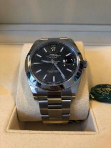 Orologio secondo polso Rolex Datejust 41mm