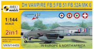 DH Vampire FB.5/FB.51/FB.52A/Mk.6