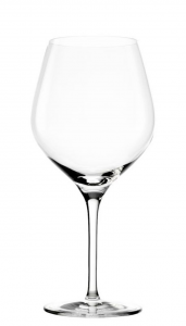 Set di 6 calici in vetro cristallino Ballon Burgundy Exquisit ml 650