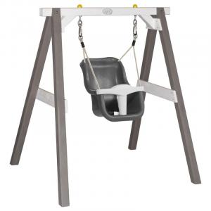 Altalena per bebè Swing Grey/white con seggiolino Axi Playhouse