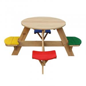 UFO tavolo da Picnic rotondo Arcobaleno Axi playhouse