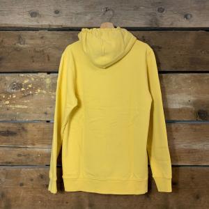 Felpa Colorful Standard con Cappuccio 100% Cotone Organico Giallo Limone