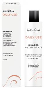 ASPERSINA DAILY USE SHAMPOO VOLUME E FORZA