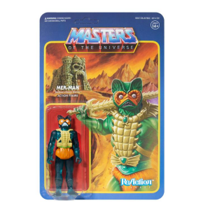 Masters of the Universe ReAction: MER-MAN (Clear Green - Limited Edition) by Super7