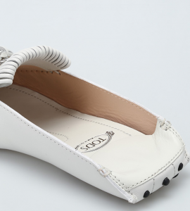 Gommino White Donna Tod's XXW00G0X860NB5B001  -15