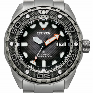Citizen Diver's Automatic 200 mt - Super Titanio, Nero