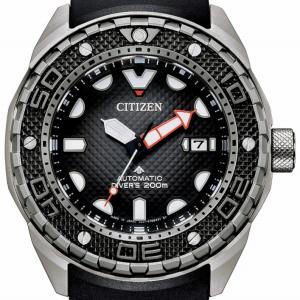 Citizen Diver's Automatic 200 mt - Super Titanio, Nero Cauciù