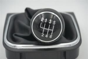 CUFFIA COMPLETA DI POMELLO 6 MARCE PER VW GOLF V VI PLUS JETTA
