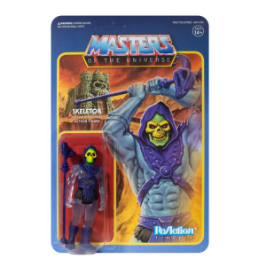 Masters of the Universe ReAction: SKELETOR (Clear Blue - Limited Edition) by Super7
