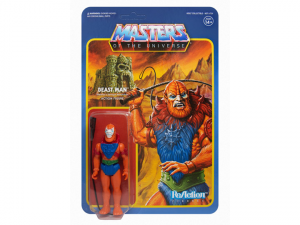 Masters of the Universe ReAction: BEAST MAN ((Leo) Power-Con 2018 Exclusive) by Super7