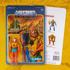 Masters of the Universe ReAction: BEAST MAN (Weapons Pack Exclusive) by Super7