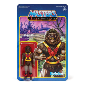 Masters of the Universe ReAction: GRIZZLOR ((Dark Variant) NYCC 2019 Exclusive) by Super7