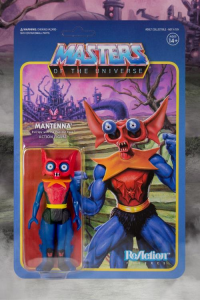 Masters of the Universe ReAction: MANTENNA (Toy Variant) by Super7