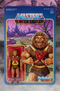 Masters of the Universe ReAction: GRIZZLOR (Toy Variant) by Super7