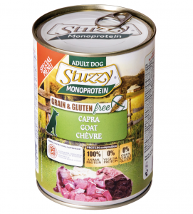 Stuzzy Dog - Monoprotein - Capra - 400g x 6 lattine - SCADENZA 01/2022
