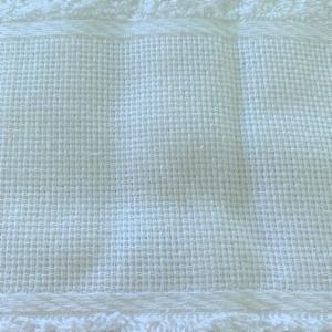 Asciugamani Tela aida bianco