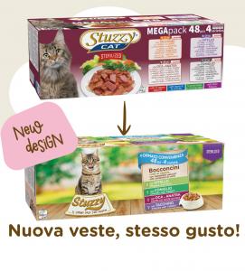 Stuzzy Cat - Megapack - Sterilizzato - 48 buste da 85g