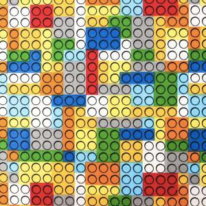COTONE FANTASIA LEGO-DIS 2 MULTICOLOR
