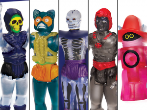 Masters of the Universe ReAction: SERIE COMPLETA (Clear  Limited Edition) by Super7