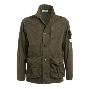 Over Jacket Stone Island Verde Militare