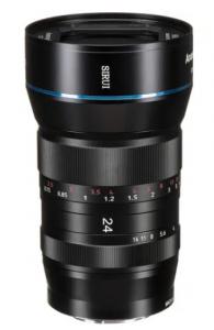 Lente anamorfica 24mm f/2.8 1.33x (SR24-E Attacco Sony E)