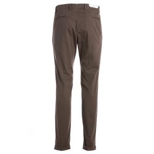 Pantalone Tortora Pois Moro Briglia