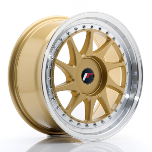Cerchi in lega  JAPAN RACING  JR26  17''  Width 8   PCD Custom  ET ET Custom  CB 74,1    Gold