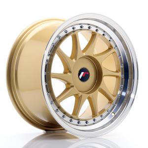 Cerchi in lega  JAPAN RACING  JR26  18''  Width 9,5   PCD Custom  ET ET Custom  CB 74,1    Gold