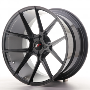Cerchi in lega  JAPAN RACING  JR30  20''  Width 11   PCD Custom  ET ET Custom  CB 74,1    Hiper Black