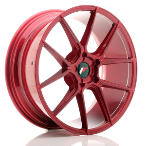 Cerchi in lega  JAPAN RACING  JR30  20''  Width 8,5   PCD Custom  ET ET Custom  CB 74,1    Red