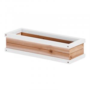 Fioriera per casetta da giardino Axi Playhouse Flowerbox Marrone/Bianco