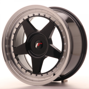 Cerchi in lega  JAPAN RACING  JR6  17''  Width 8   PCD Custom  ET 35  CB 74,1    Black