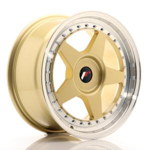 Cerchi in lega  JAPAN RACING  JR6  17''  Width 8   PCD Custom  ET 35  CB 74,1    Gold