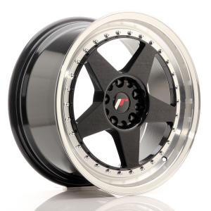 Cerchi in lega  JAPAN RACING  JR6  18''  Width 8,5   PCD Custom  ET ET Custom  CB 74,1    Black