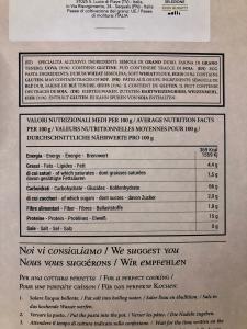 Tagliolini all'uovo g. 250 Selezione Eros Buratti