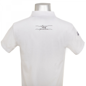 Maglietta Polo M/M Summer con logo Pastry Concept/Leonardo Di Carlo