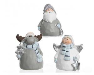 KAEMINGK Angioletto di Natale in Terracotta, 1 Modello Assortito