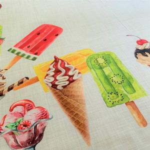 Tovaglia gelati stampa digitale