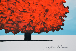Mondelli Giò Acrilico su tela Formato cm 30x30