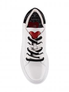 Love Moschino Sneakers Donna Bianco e Nero