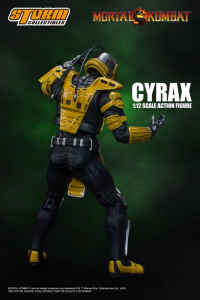 Mortal Kombat: CYRAX 1/12 by Storm Collectibles