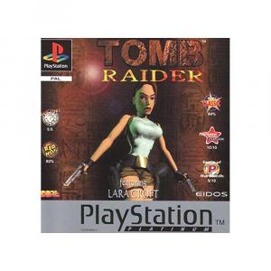 Tomb Raider: featuring Lara Croft - platinum - USATO - PS1