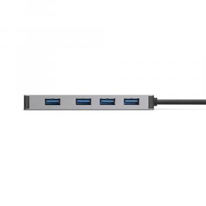 Hub Adattatore USB-C con 4 porte USB 3.0 per MacBook e iPad