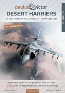 Desert Harriers