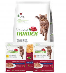 Trainer Natural Cat - Adult - 1.5kg + 2 buste OMAGGIO da 85g - SCADENZA 08/2021