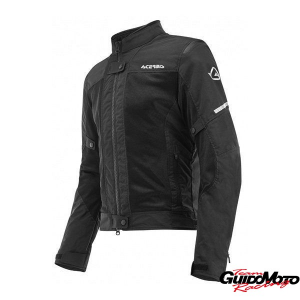 0023745.090.064 GIACCA NERA MODELLO RAMSEY VENTED DONNA TG. M ACERBIS