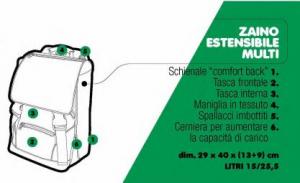 Zaino Estensibile Astuccio Triplo Diario Power Players Auguri Preziosi 2021/2022