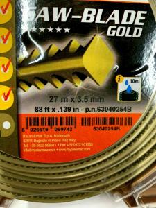 FILO PER DECESPUGLIATORE DENTE DI SEGA OLEOMAC SAW BLADE GOLD 3,5 mm